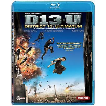 District 13-Ultimatum [BLU-RAY] USA import