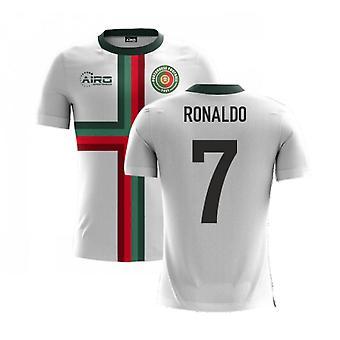 2020-2021 البرتغال إيرو مفهوم خارج قميص (رونالدو 7)