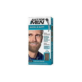 Nur für Männer Schnurrbart & Bart-Light Brown M25