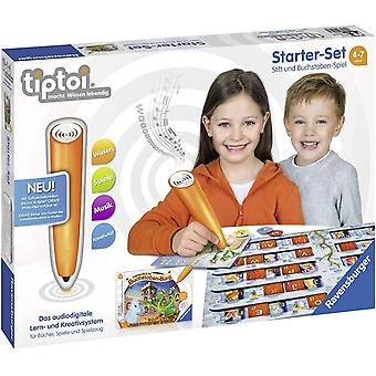 FengChun tiptoi Starter-Set 00802: Stift und Buchstaben-Spiel - Lernsystem fr Kinder ab 4 Jahre