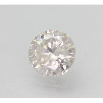 Sertifioitu 0,90 karat F SI3 pyöreä brilliant parannettu luonnollinen löysä timantti 6,13mm