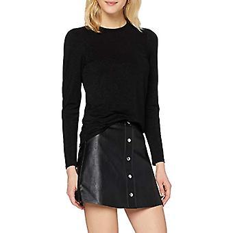 Herrlicher Cameo Jersey Glitter T-Shirt, Black 11, M Woman