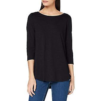 ESPRIT 990EE1K330 T-Shirt, 001/schwarz, M Damen