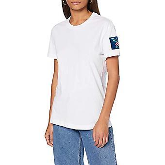 リプレイ W3503 .000.22662 T シャツ, 001 ホワイト, XL 女性