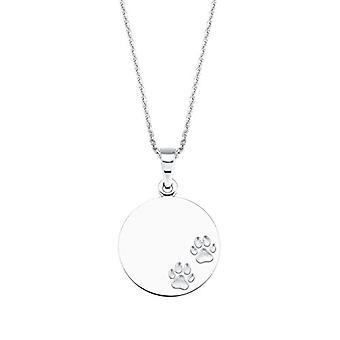 Liebe - Halskette mit Anhänger für Frauen, Sterling Silber 925, Muster: Katze