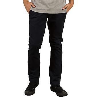 Volcom Frickin Slim Chino Pantalones en Negro