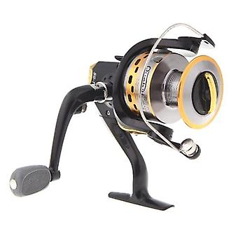 6BB Ball Bearings Left/Right Interchangeable Collapsible Handle Fishing Spinning Reel SG7000A 5.1:1 Black