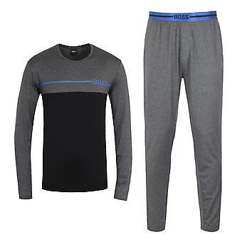 BOSS Bodywear Sustainable Refined Grey Pyjama Set
