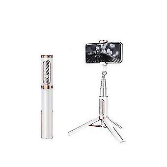 Λευκό τρίποδο ραβδί selfie bluetooth, φορητό ασύρματο ραβδί selfie για το μήλο az6680