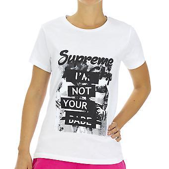 Supreme Grip Women T-Shirt  Firebird White