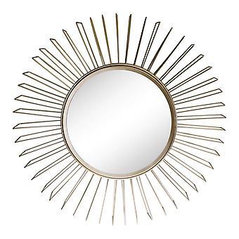 מראה הדגשה תלת-ממדית של חוט זהב
