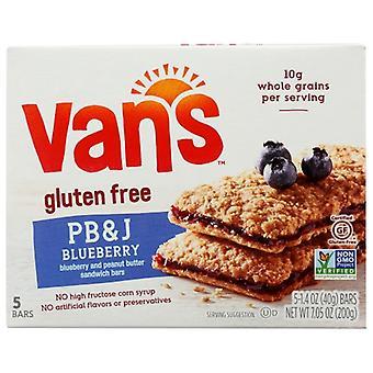 Vans Sandwhich Bar Pb & J Bluebr, Gehäuse von 6 x 1,4 Unzen