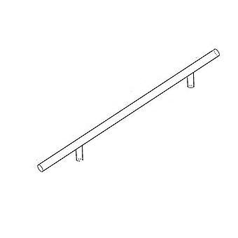 جديد 192mm باب المطبخ الأبيض تي بار مقبض مستقيم مقبض مجلس الوزراء الأثاث الفولاذ المقاوم للصدأ sm35118