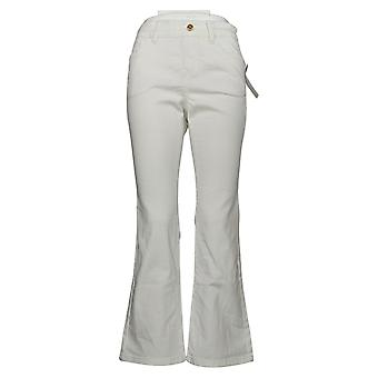 IMAN Global Chic Women's Petite Jeans Pull On Bootcut Leg Blue 734928100