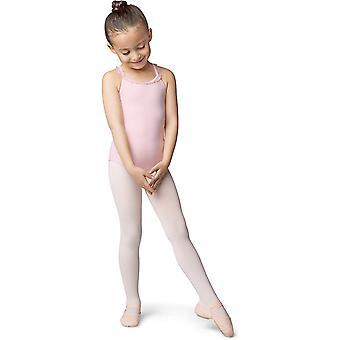 Bloch Dance Girls' Performa Tanssikenkä, Kaakao, 1,5 D US Little Kid