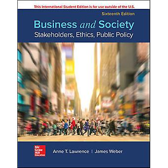 ISE BUSINESS AND SOCIETY STAKEHOLDERS ETHC PUBLIC POLICY