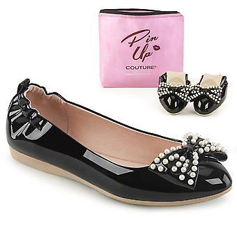 Pin Women's Shoes Up Blk Pat