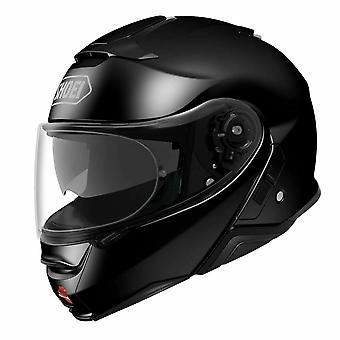 Shoei Neotec 2 Vanlig Motorcykel Hjälm Svart