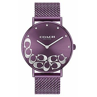 Valmentaja Naisten Perry Purple Mesh Rannekoru 14503823 Watch
