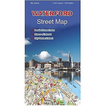 Waterford Street Map Irish Street Map OS Ireland Street Map