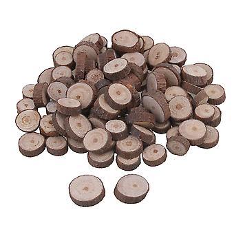 Käsityön sisustusvalmistajat 100piece luonnollinen keskeneräinen puuviipaleet hää käsityö käsintehty diy 1-2cm
