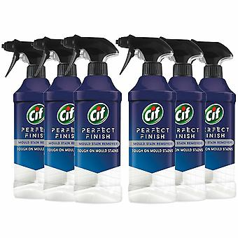 CIF Perfect Finish Mould Stain Removal Spray, 6 Packs of 435ml