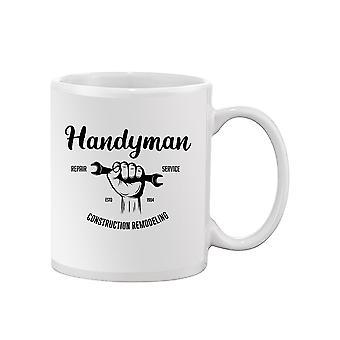 Handyman Construction Remodeling Mug -SPIdeals Designs