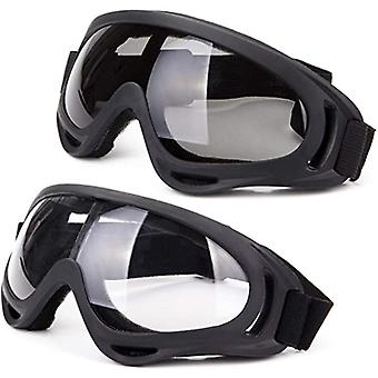Lunettes unisexes coupe-vent protection uv pour moto de cyclisme de ski motoneige