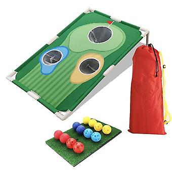 Backyard Golf Cornhole Game - Fun New Golf Game For All Ages