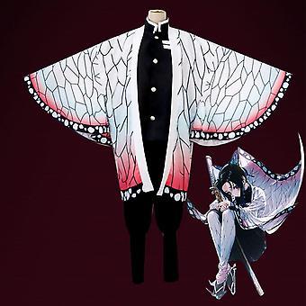 Kids Anime Demon Slayer Cosplay Costume Set Tanjirou Nezuko Tenue