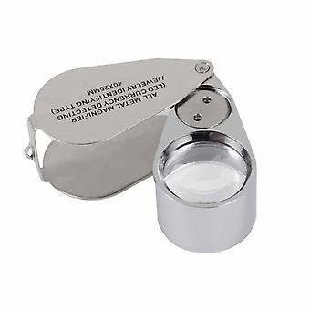 Magnifying Glass 40 Times Leduv Lamp