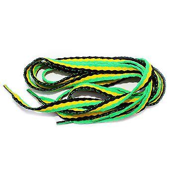 Arranque Emo Rasta Jamaica zapato cordones - un par - 90cm