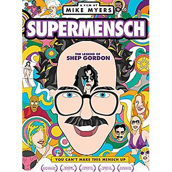 Supermensch: La légende de Shep Gordon [DVD] USA import