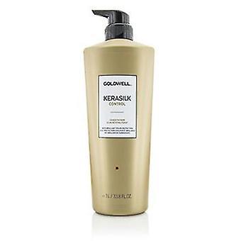 Goldwell Kerasilk-hoito aine (hallitsemattomiksi ja pörröinen karva)-1000ml/33,8 oz