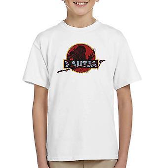 Yautja Predator Jurassic Park Kid's T-Shirt