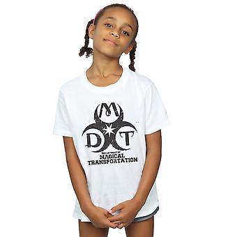 Harry Potter Girls Department Of Magical Transportation Logo T-Shirt