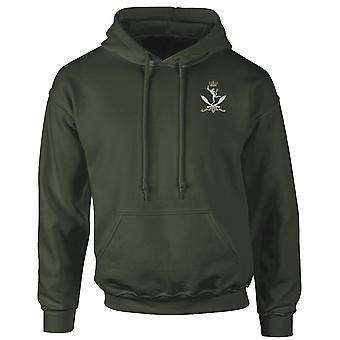 Queens Ghurka Signale Stickerei Logo - offiziellen britischen Armee Hoodie Sweatshirt mit Kapuze
