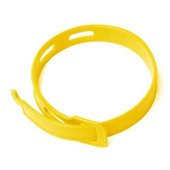 2 Caraselle Yellow Bug Bands - Insect Repelling Wristband