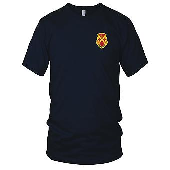 US Army - 387th fältartilleri bataljonen broderad Patch - Mens T Shirt