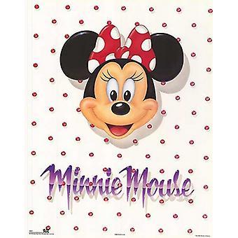 Minnie Mouse Portrait Poster Print by Walt Disney (22 x 28)