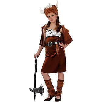 Kinder Kostüme Wikinger Kostüm für Mädchen