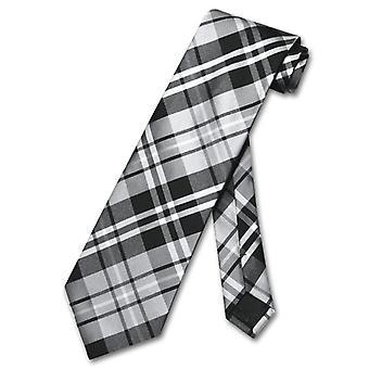 Vesuvio Napoli necktie Plaid design férfi ' s nyak nyakkendő