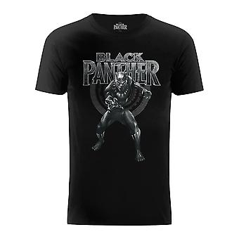 Marvel Black Panther Claws Fight Stance T-Shirt