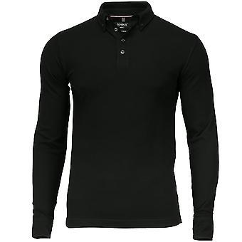 Nimbus Mens Carlington Deluxe Long Sleeve Polo Shirt