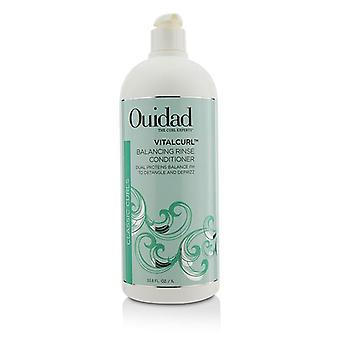 Ouidad Vitalcurl Balancing Rinse Conditioner (classic Curls) - 1000ml/33.8oz