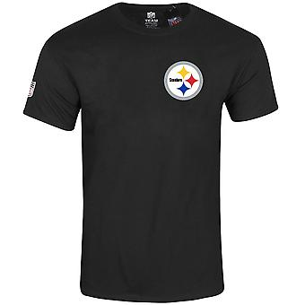 Majestic NFL shirt - realm Pittsburgh Steelers Black