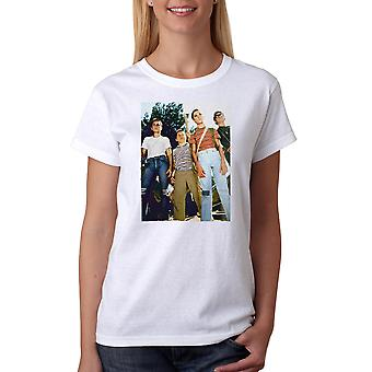 Stand By Me Stand Off Women's White T-shirt