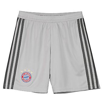 2018-2019 Bayern Münih Adidas Ev Kaleci Şort (Gri) - Çocuk