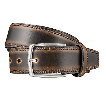 LLOYD Men's belt belts men's belts leather belts men's leather belts Brown 3314