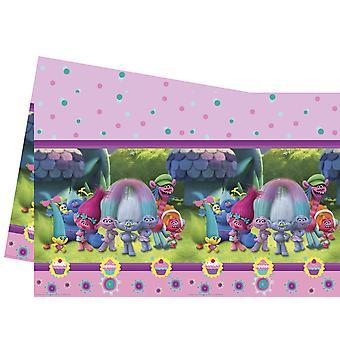 Table cloth tablecloth tablecloth trolls children party birthday 120x180cm